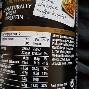 Waitrose low-fat vegan food