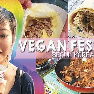 VEGAN FESTIVAL IN SEOUL!!! - YouTube
